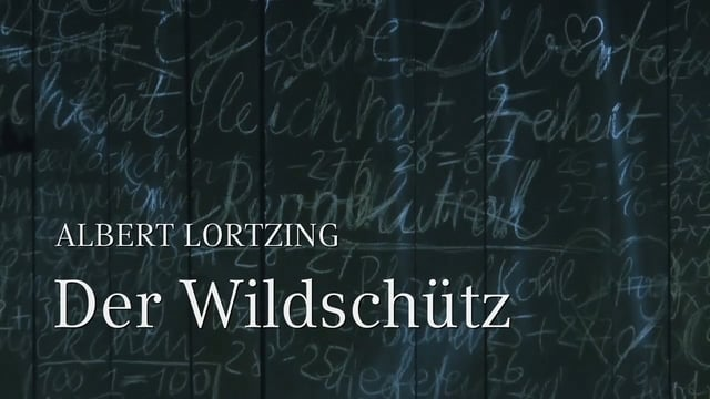 DER WILDSCHÜTZ – Albert Lortzing – engl. version